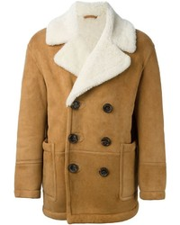 DSQUARED2 Shearling Double Breasted Jacket