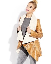 Forever 21 Southbound Faux Shearling Jacket