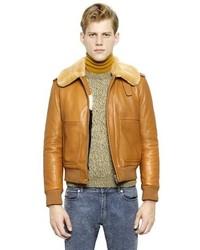 Maison Margiela Shearling Leather Jacket