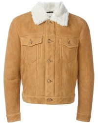 Marc Jacobs Shearling Aviator Jacket