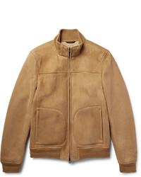 Loro Piana Shearling Bomber Jacket