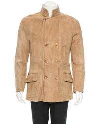Brunello Cucinelli Shearling Coat W Tags