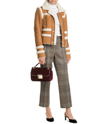 Carven Sheepskin Jacket With Shearling