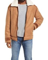 BLANKNYC Snowed In Faux Jacket