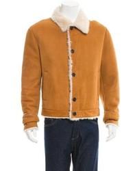Prada Suede Shearling Jacket