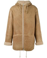 Yeezy shearling coat medium 954815