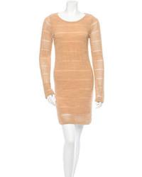 Tan sheath dress original 9811712
