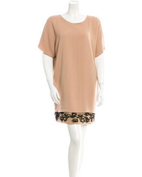 Tan Shift Dress