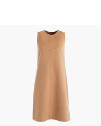 J.Crew Collection A Line Shift Dress In Double Faced Cashmere