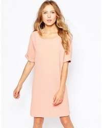 Ichi Short Sleeve Shift Dress