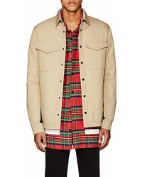 Aztech Mountain Cotton Twill Down Shirt Jacket