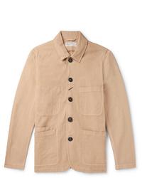 Universal Works Baker Linen And Cotton Blend Canvas Jacket
