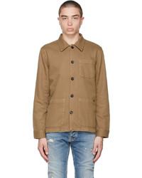 Nudie Jeans Brown Barney Worker Jacket