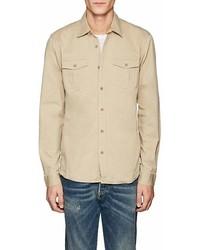 Orlebar Brown Denton Stretch Cotton Shirt Jacket