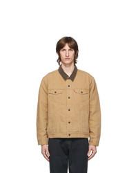 Levis Tan Trucker Jacket
