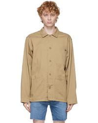 Polo Ralph Lauren Tan Twill Classic Fit Jacket