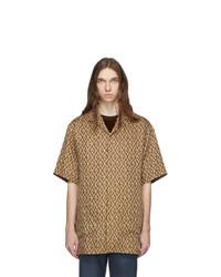 Gucci Brown G Rhombus Shirt