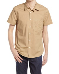 7 For All Mankind Slim Fit Button Up Poplin Shirt
