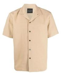 Roberto Collina Straight Hem Short Sleeved Shirt