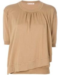 Marni Asymmetric Hem Sweater