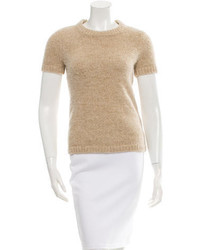 Kate Spade New York Short Sleeve Metallic Sweater