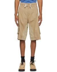 Moncler Genius 1 Moncler Jw Anderson Beige Bermuda Shorts