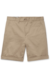 Gucci Appliqud Cotton Twill Shorts