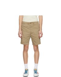 RRL Beige Chino Officer Fit Shorts