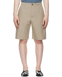 Kenzo Beige High Summer Chino Shorts