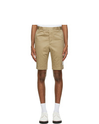 Thom Browne Beige Unconstructed Chino Shorts