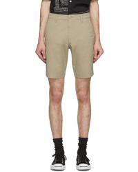 Levi's Beige Xx Chino Taper Shorts