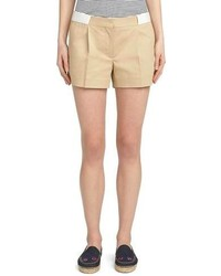 Brooks Brothers Cotton Khaki Shorts