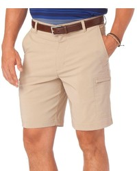 Chaps Classic Fit Solid Performance Golf Cargo Shorts