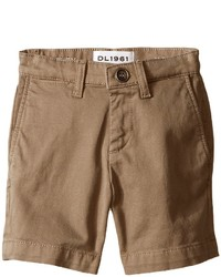 Dl1961 Kids Jacob Chino Shorts In Cannon Boys Shorts