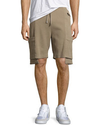 Helmut Lang Exposed Pocket Shorts Tan