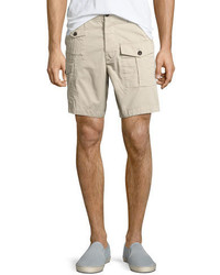 DSQUARED2 Military Cargo Shorts Beige