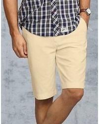 Tommy Hilfiger New Tommy Classic Khaki Chino Flat Front Shorts    Variety