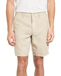 John Varvatos Star Usa Linen Shorts