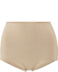 Stretch knit shorts beige medium 1251703