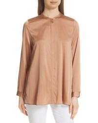 Eileen Fisher Stretch Silk Shirt