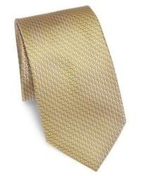 Tan Silk Tie