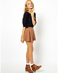 Lord & Taylor Design Lab Faux Suede Skater Skirt | Where to buy ...
