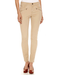 jcpenney Ana Ana Zip Pocket Twill Pants Tall
