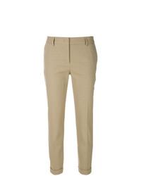 Piazza Sempione Slim Cropped Trousers