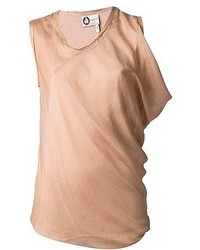 Tan sleeveless top original 3997357