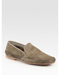 Tan slip on sneakers original 9744426