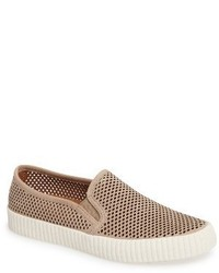 Frye Camille Perforated Slip On Sneaker