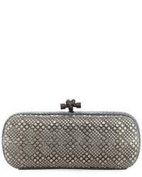 Elongated snake embossed clutch bag medium 3697725