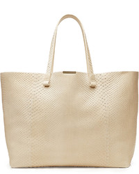 Victoria Beckham Simple Shopper Python Leather Tote