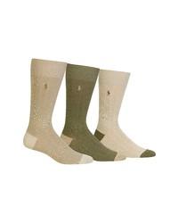 Polo Ralph Lauren 3 Pack Ribbed Socks